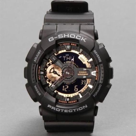 Relógio G-shock Ga110 Dourado - Original E Novo