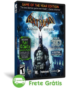 Batman Arkham Asylum Pc Game Of The Year ( Mídia Física )