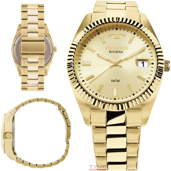 Relógio Technos Masculino Classic Riviera 2415ch/4x - C/ Nfe