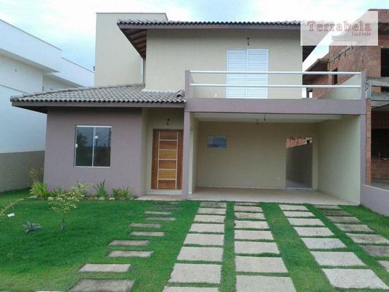 Casa Residencial À Venda, Condomínio Bosque Dos Cambarás, Valinhos. - Ca0096