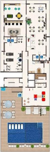Apartamento - Venda - Caiçara - Praia Grande - Myz17