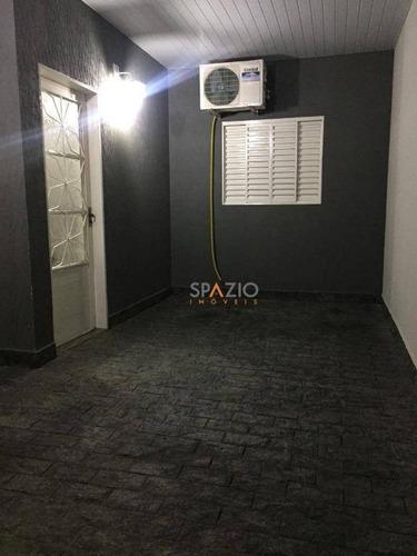 Imagem 1 de 13 de Casa Com 2 Dormitórios À Venda, 126 M² Por R$ 250.000,00 - Jardim Brasília Ii - Rio Claro/sp - Ca0504