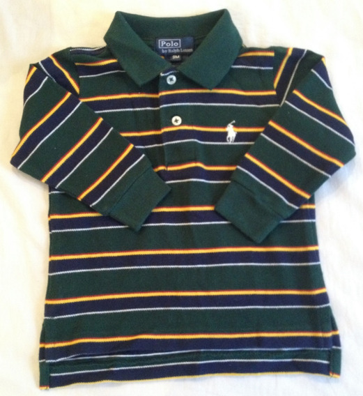 Camiseta Polo Ralph Lauren - 9 Meses - Nova!