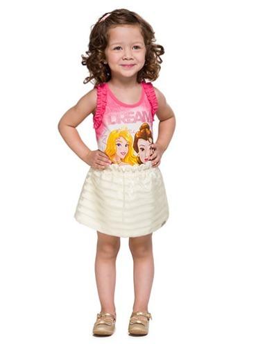 Blusa Infantil Menina Brandili Princesas