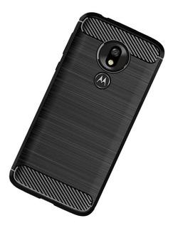 Funda Para Moto G7 G8 Play Plus Power Carbon Fiber Uso Rudo