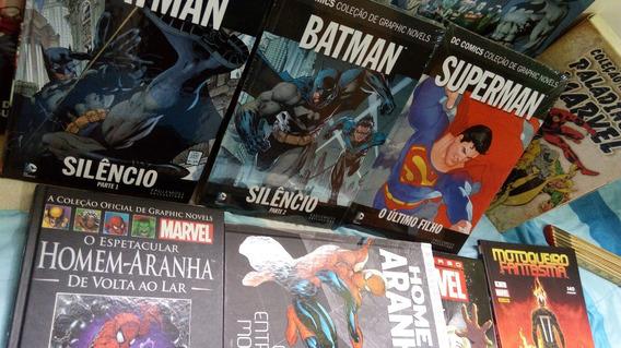 Hq Batman Silêncio 1 E 2 - Edição De Luxo Capa Dura Revista