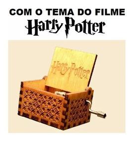 Caixinha Caixa De Musica Harry Potter(manivela)