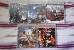Castlevania Lords Of Shadow 1 E 2, Ninja Gaiden 1 E 2 E Moto