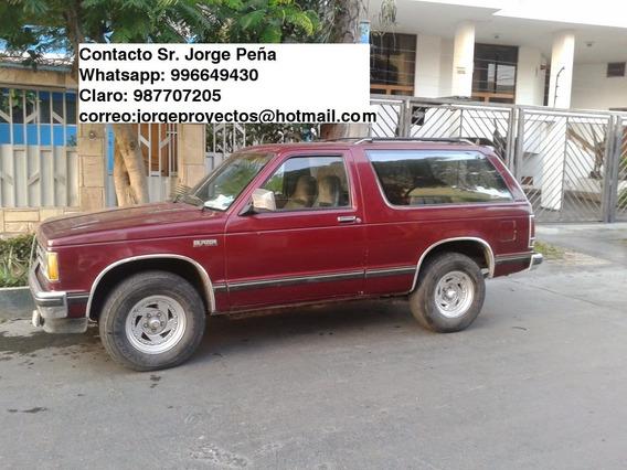 Camioneta Chevrolet Balzer 88