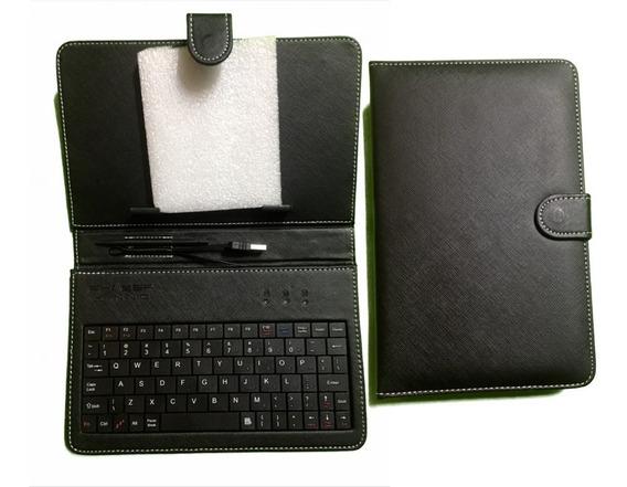 Capa Para Tablet Android 7 Polegadas Couro Sintético V8 Usb