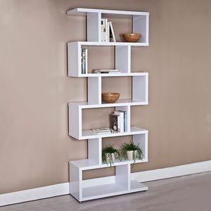 Biblioteca Estante Repisa Minimalista Multifuncional Moderna