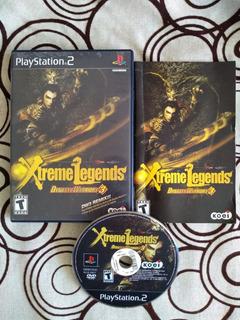 Xtreme Legends Dinasty Warriors 3 Original Para Playstation2