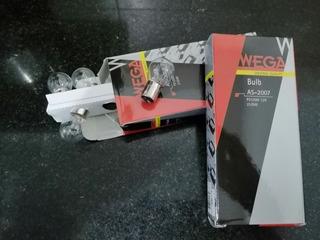 Lámparas Wega 2 Polos 12v 21/5w Caja X 10 Unidades