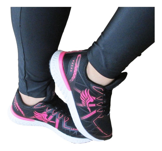 Tenis Para Caminhada Feminino,pra Corrida, Zumba,esportivo,academia,pilates,cros Fit,envio Rapido, Novidade!