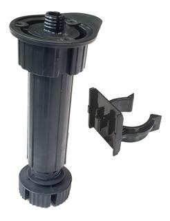 Patas Plastico P/ Rodapie Altura 14-19 Cm Con Clip- El Par