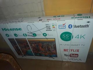 Smart Tv Hisense 4k 55 Hle5517rtuxi
