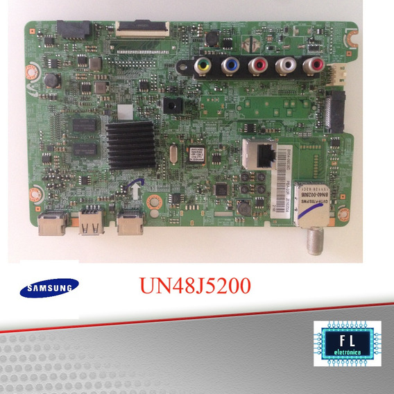 Placa Principal Tv Samsung Un48j5200