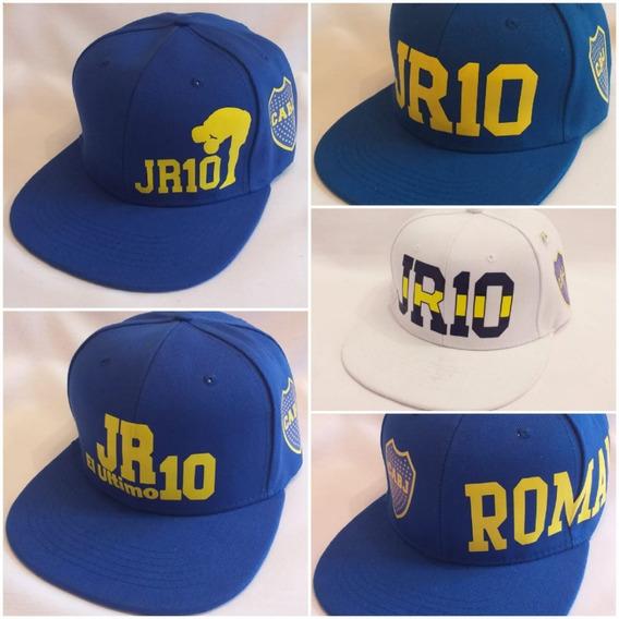 Gorra Boca Juniors Juan Roman Riquelme 10 Envio Gratis