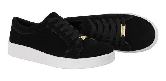 Tenis Sapato Sapatenis Casual Feminino Camurça Crshoes 4030