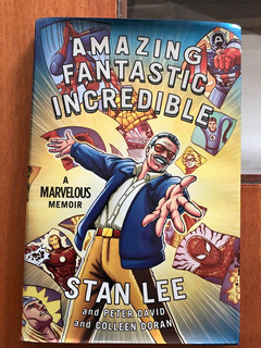 Libro Amazing Fantastic Incredible Stan Lee - Marvel Comic
