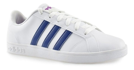 Tênis adidas Vs Advantage W Branco C/ Azul Bb9620 Original