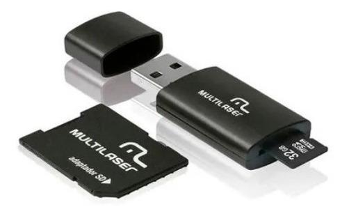 Cartao De Memoria 32gb 30 Mb/s Adaptador Sd Frete Gratis