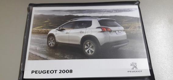Manual Completo Peugeot 2008 Original Ano 2017/2018 Promoção