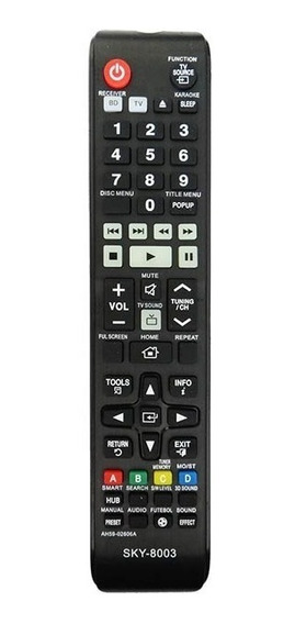 Controle Home Blu-ray Samsung Ah59-02606a Ht-f4505 5505 5555