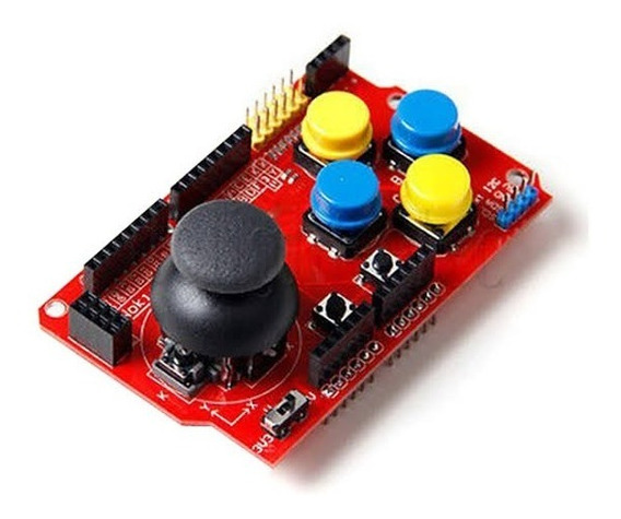Joystick Shield Para Arduino
