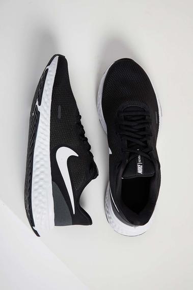 Tênis Corrida Masculino Nike Revolution 5 Preto