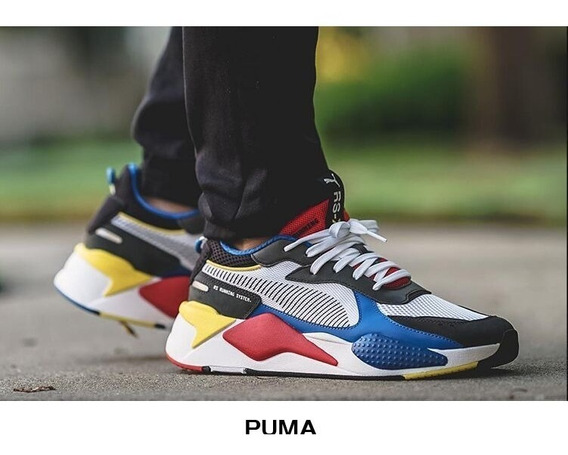 Zapatillas Puma Rs-x Toys White Youth