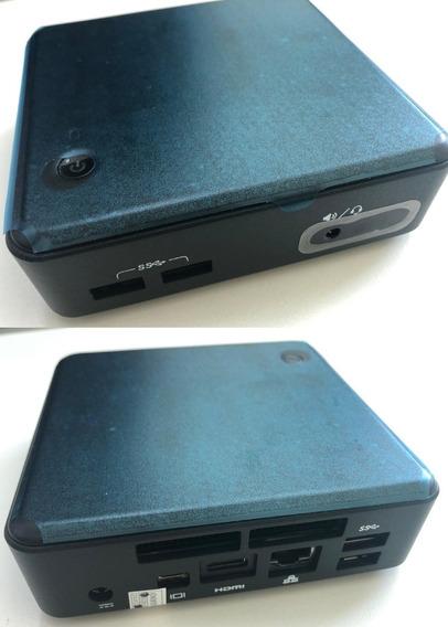 Kit Nuc I5 Intel D54250wyk - 8gb, Msata De 256gb E Win. Ativ