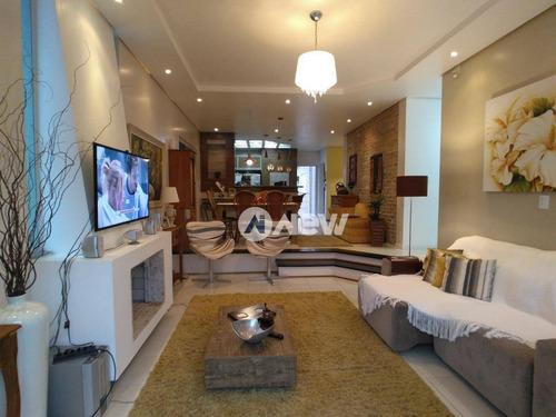 Imagem 1 de 24 de Casa Com 3 Dormitórios À Venda, 245 M² Por R$ 750.000,00 - Solar Do Campo - Campo Bom/rs - Ca3047