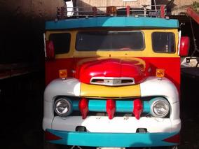 Chiva O Bus Escalera Mod 52