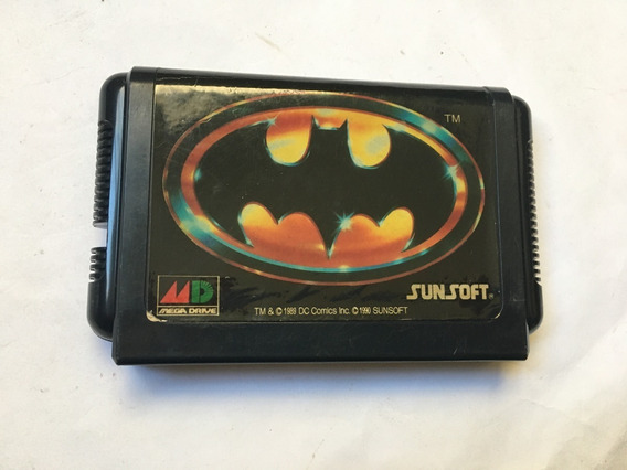 Batman Original Mega Drive Cartucho Sega Japan