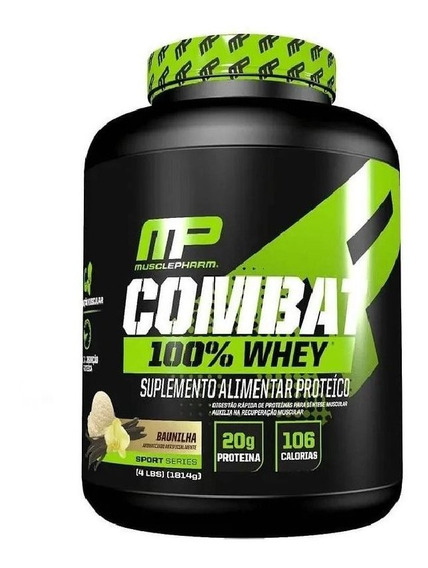 Proteína Combat 100% Whey 1,8kg Muscle Pharm