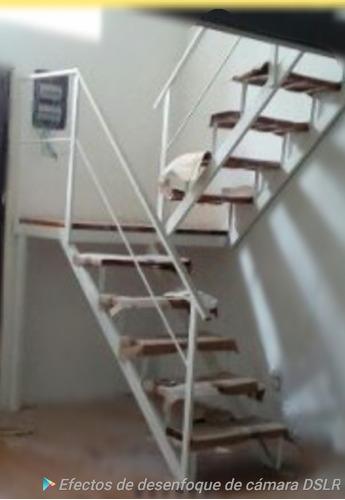 Escaleras Interior $3700 Mt Hierro Y Madera