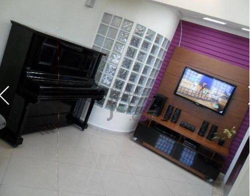 Casa Com 3 Dormitórios À Venda, 110 M² Por R$ 580.000,00 - Jardim Santa Genebra - Campinas/sp - Ca3044