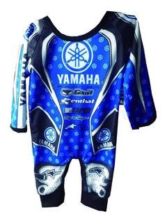Body Pañalero Para Bebe Yamaha Honda Cuatri Gama Top Racig