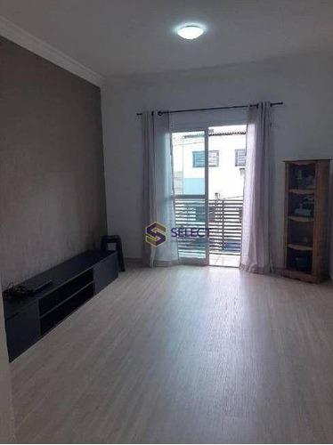 Apartamento Com 2 Dormitórios À Venda, 75 M² Por R$ 320.000,00 - Nova Petrópolis - São Bernardo Do Campo/sp - Ap0490