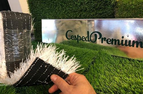 Cesped Sintetico Blanco 50mm Cancha Futbol Cesped Premium