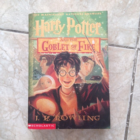 Livro Harry Potter And The Goblet Of Fire 4 - J. K. Rowling