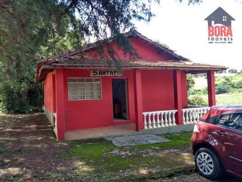 Imagem 1 de 11 de Chácara Com 2 Dormitórios À Venda, 4200 M² Por R$ 280.000,00 - Ressaca - Atibaia/sp - Ch0378