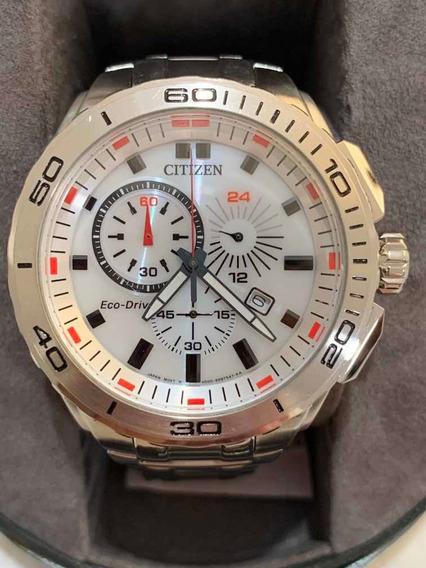 Reloj Citizen Eco Drive At0960-52a Usado
