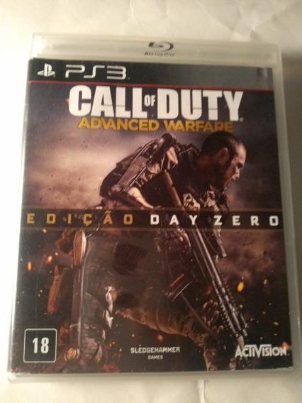 Call Of Duty Advanced Warfare Ps3 Mídia Física Em Português