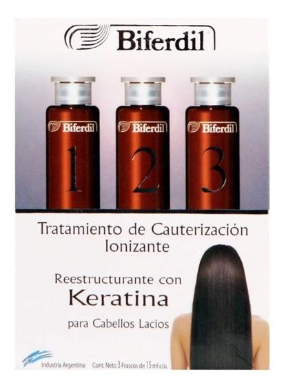 Biferdil Tratamiento Cauterizacion Ionizante 1+2+3 3x15 Ml