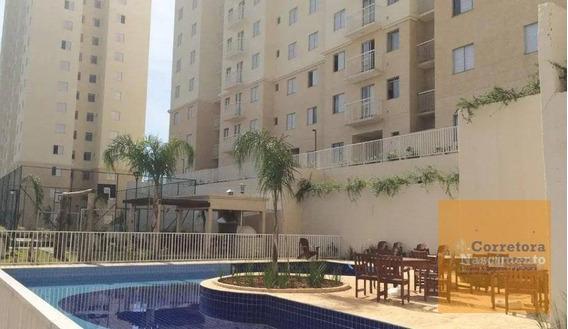 Apartamento Com 3 Dormitórios À Venda, 56 M² Por R$ 260.000,00 - Conjunto Residencial Flamboyant - São José Dos Campos/sp - Ap1020