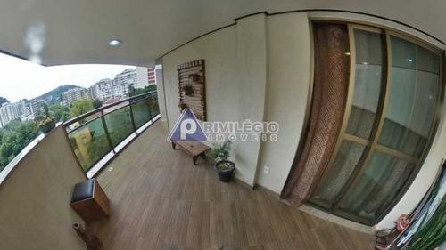 Imagem 1 de 29 de Apartamento À Venda, 3 Quartos, 1 Suíte, 2 Vagas, Botafogo - Rio De Janeiro/rj - 3515