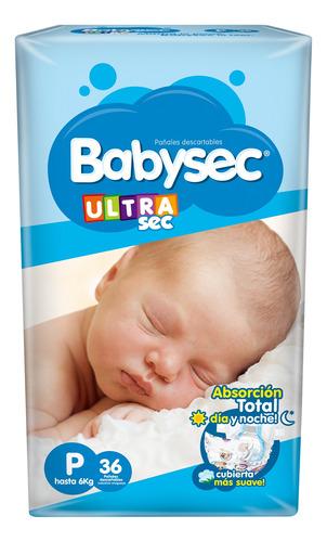 Pañalesbabysec Ultra Ch X 36 - Bebés Y Niños