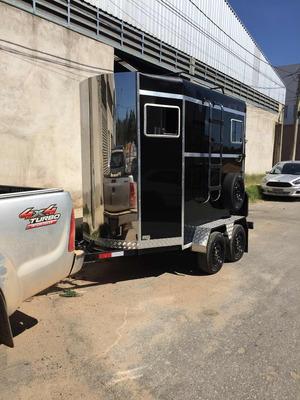 Trailer Reboque Carretinha Dois Cavalos Dormitório Vtav